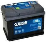 60 Ah Exide akkumulátor